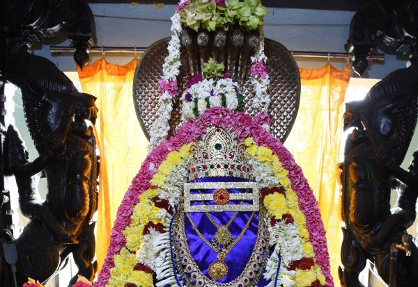 சிறப்பு அலங்காரத்தில் செம்பொற்ஜோதிநாதர்
