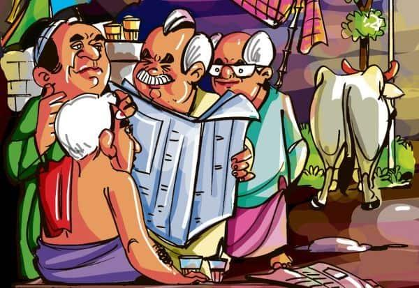 கவுண்டமணி, 'ஜோக்'கை நினைவுபடுத்திய கட்சிகள்!