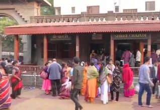ஷீரடியில் முழு 'பந்த்' : கோவில் மட்டும் இயங்கியது