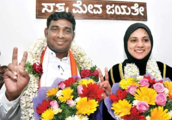 மைசூரு: மேயர் பதவியை பிடித்த முஸ்லிம் பெண் Tamil_News_large_2461374