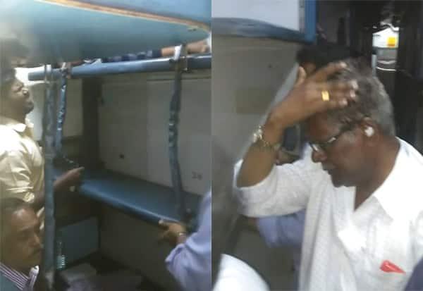 Train, MiddleBerth, LowerBerth, Chennai, ரயில், மிடில்பெர்த், படுக்கைவசதி, லோயர்பெர்த், சென்னை