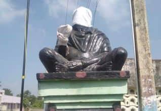 காஞ்சிபுரத்தில் ஈவெரா சிலை உடைப்பு