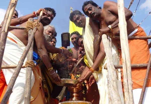 தர்மராஜா திரவுபதி அம்மன் கோவில் கும்பாபிேஷகம்