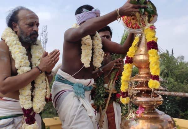 திருமுண்டீச்சரம் சிவலோகநாதர் கோவில் கும்பாபிேஷக விழா