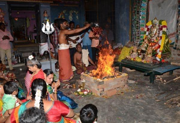 வராஹி அம்மனுக்கு நிகும்பலா யாகம்