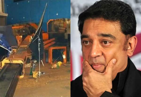 Kamal, Indian2, Crane, Accident, KamalHaasan, ShootingSpot, கமல், கமல்ஹாசன், கிரேன், விபத்து, நிதி,