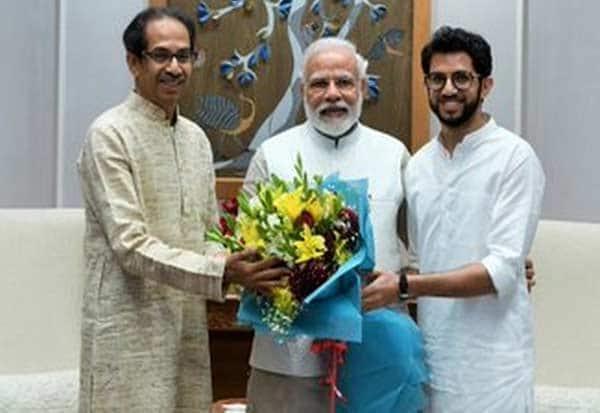 Uddhav Thackeray, Aaditya, meet PM Modi,பிரதமர் மோடி, உத்தவ்