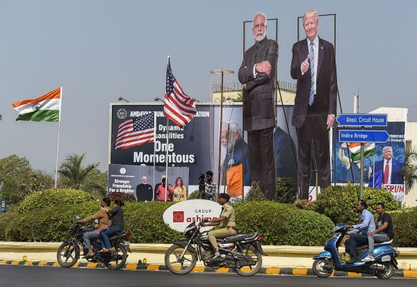 US_President,Trump,India_visit,விழாக்கோலம்,அதிபர்,டிரம்ப்,ஆமதாபாத்,