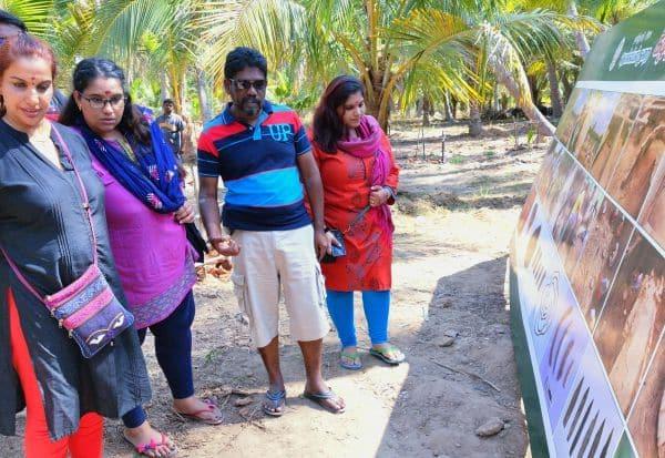 கீழடியில் புகைப்பட கண்காட்சி: பார்வையாளர்கள் ஆர்வம்