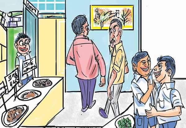 'வெவரமான மாணவர்களால் கல்வி அதிகாரிகள் ஓட்டம்...!'