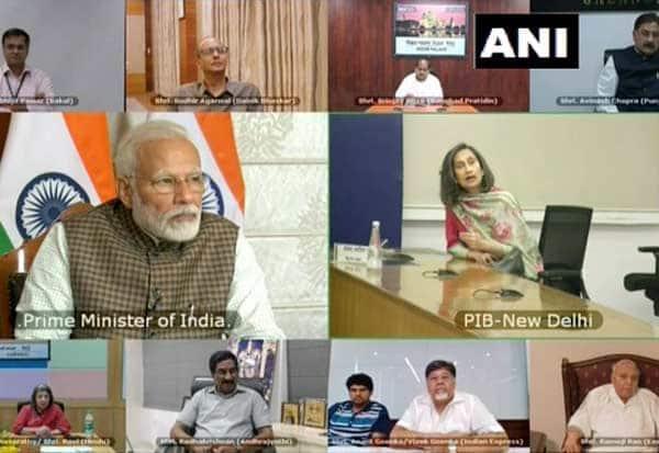 PM Modi, tells, journalists,