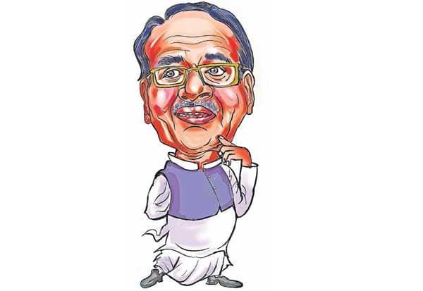 சிவ்ராஜ் சிங் சவுகான், அரசு, குரல் ,ஓட்டெடுப்பு,வெற்றி