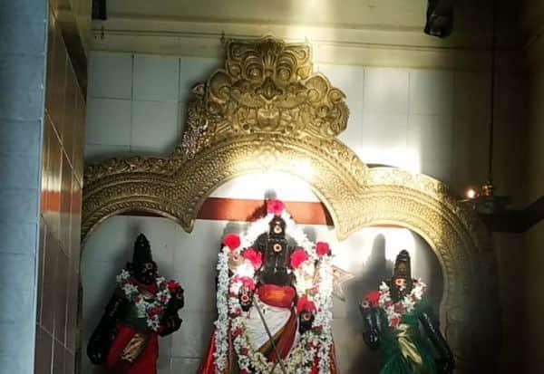 சுப்ரமணிய சுவாமி மீது  சூரிய ஒளிகதிர்