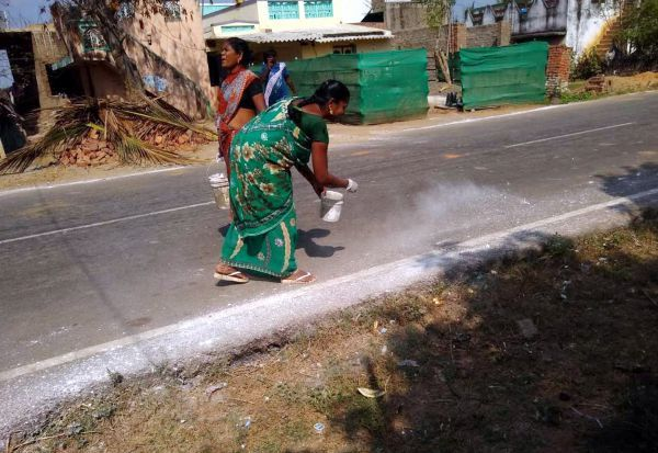 கடம்பத்தூர் ஒன்றியத்தில் கொரோனா தடுப்பு பணி