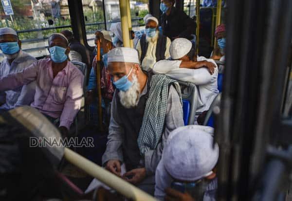 Nizamuddin mosque, Religious Meet, Foreigners, Violated Visa Rules, Barred, Coronavirus, Corona Outbreak, Delhi, India, நிஜாமுதீன், முஸ்லீம், கூட்டம், வெளிநாட்டினர், விசா, விதிகள், தடை, கொரோனா வைரஸ், டில்லி