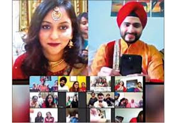 Lockdown, Marriage, Delhi, Mumbai, Coronavirus, Corona, Covid-19, Curfew, travel ban, ஊரடங்கு, திருமணம், டில்லி, மும்பை, வீடியோகால்