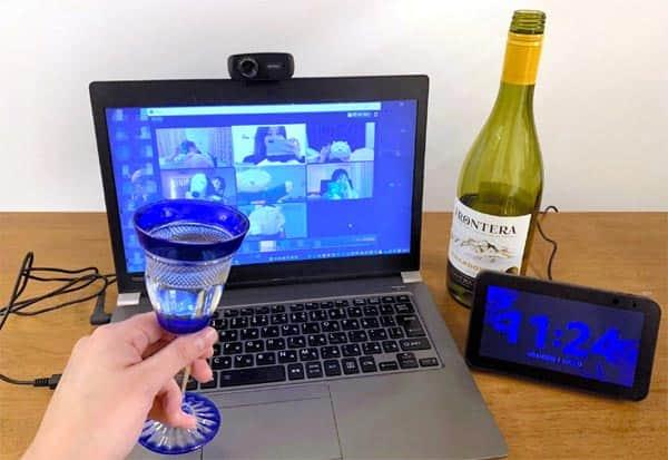 Japan, Virtual Cheers, Nomikai, coronavirus, coronavirus outbreak,  ஜப்பான், ஆன்லைன், பார்ட்டி,
