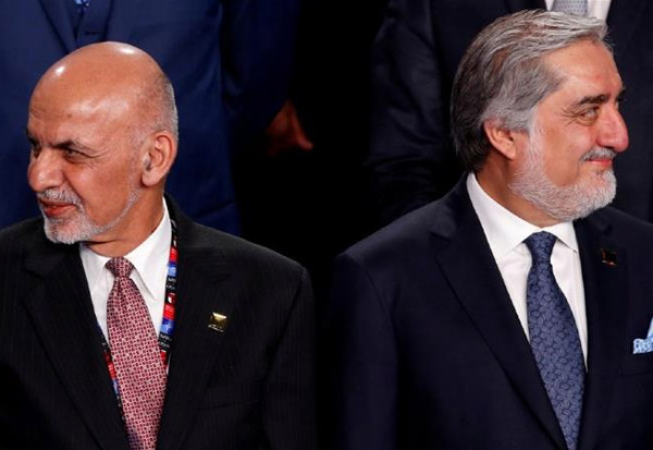 Afghanistan, Ghani, Abdullah, sign, power, sharing, deal,  power-sharing deal,