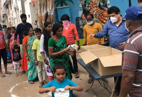 BJP, corona, coronavirus, covid-19, corona in india, corona update, coronavirus update, Food Packets, lockdown, பாஜ., பாஜக, உணவுப்பொட்டலங்கள், விநியோகம், மாஸ்க்