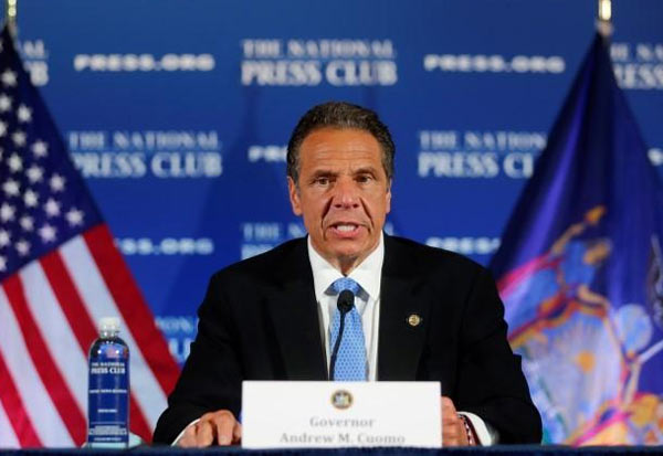 New York, Governor, Police Reforms, Protest, Curfew, protests in NY, Floyds death, நியூயார்க், போராட்டம், ஊரடங்கு, கவர்னர்