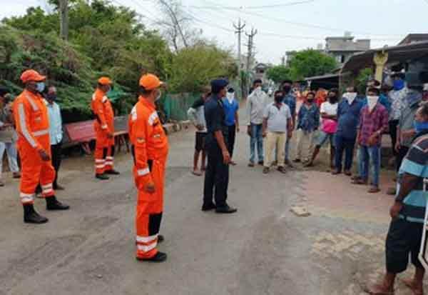 நிசர்கா புயல்: தயார் நிலையில் தேசிய பேரிடர் மீட்பு படையினர்