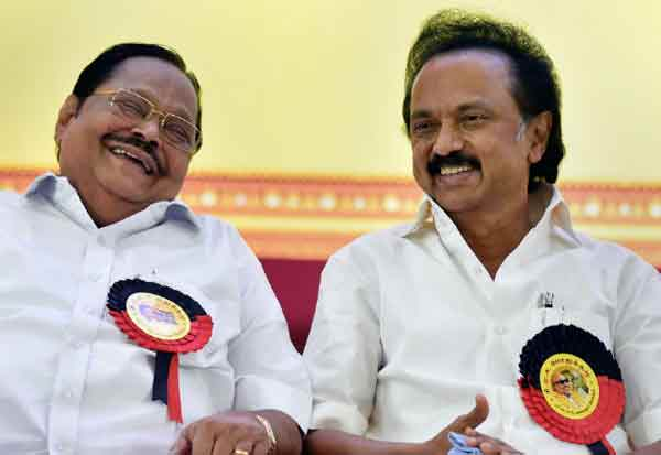 DMK, MK Stalin, Durai Murugan, DMK treasurer, TN news, tamil nadu