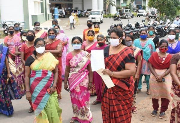 'மைக்ரோ பைனான்ஸ்' நிறுவனம் மிரட்டல்: பாதிக்கப்பட்ட பெண்கள் கண்ணீர்