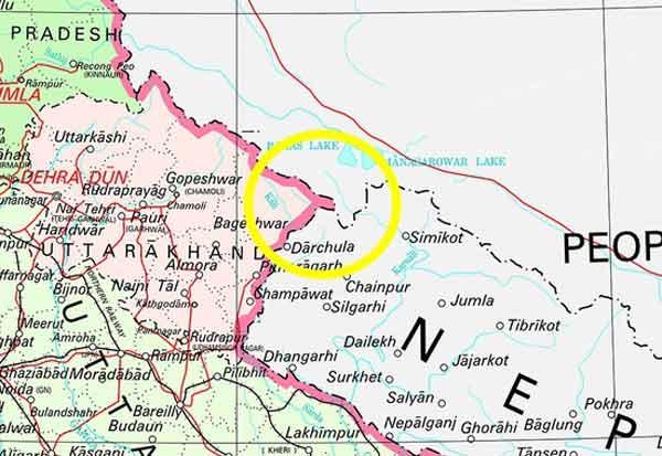திட்டவட்டம்! காலாபானி,லிபுலெக் இந்தியாவின் பகுதி தான்: நில ஆவணங்களை உறுதி செய்து அறிவிப்பு