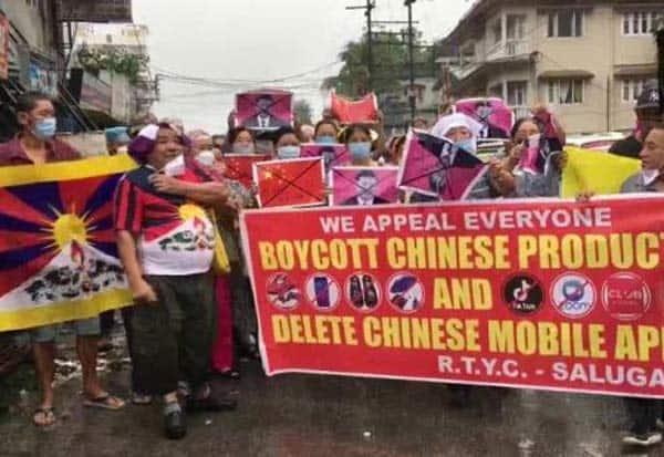india, china, tibet, people, protest, இந்தியா, சீனா, திபெத், மக்கள், போராட்டம்