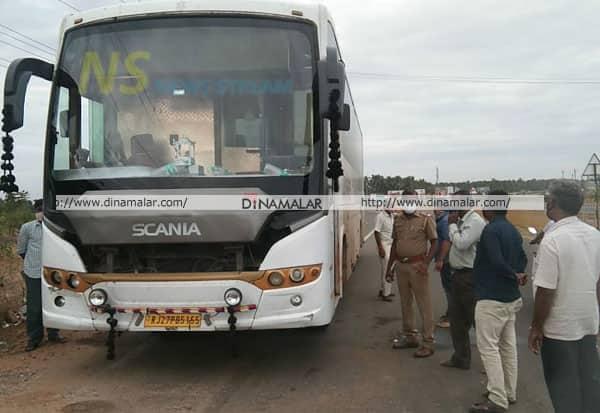 கோவை, போலி இ-பாஸ், அதிகாரிகள், ஆம்னிபஸ், பறிமுதல், சோதனை, Covid-19 in tn, corona, coronavirus, covid-19, tamil nadu, coimbatore, fake e-passes, vehicle seized
