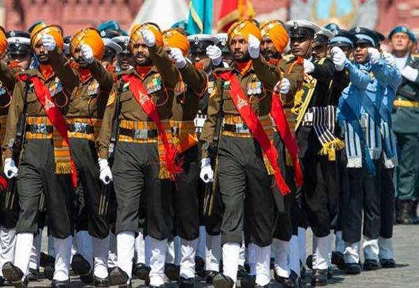 Indian military,Victory Day Parade, Russia, Rajnath Singh, proud
