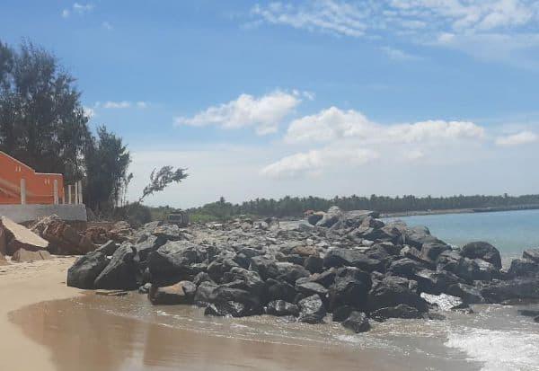 பாம்பனில் ரூ.1.87 கோடியில் தடுப்பு வேலி அமைப்பு