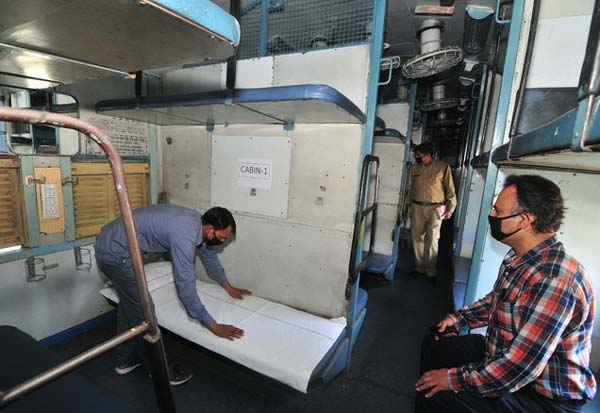 Indian Railways, coaches, isolation wards, coronavirus