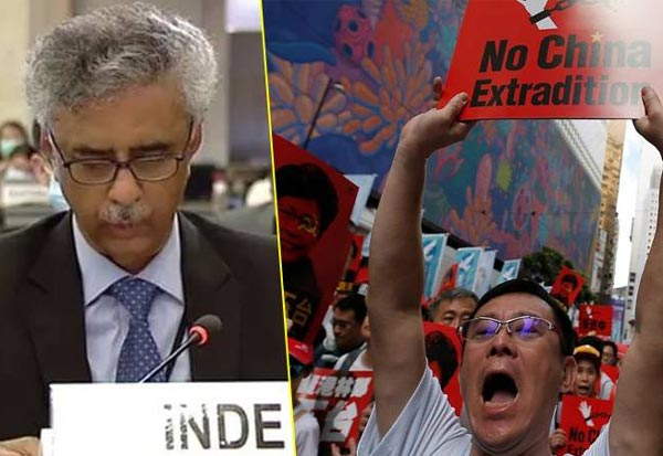India, UN, Hong Kong, China, Geneva, Human Rights Council meeting, இந்தியா, ஐநா, ஹாங்காங், சீனா