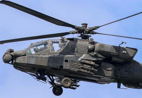 Indian Air Force, Apache helicopters, Apache