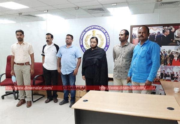 கேரளா, தங்கக்கடத்தல், என்ஐஏ, விசாரணை, நீதிமன்ற காவல், ஸ்வப்னா, Gold smuggling case, kerala, Swapna, Sandeep, Kochi, NIA court, remand