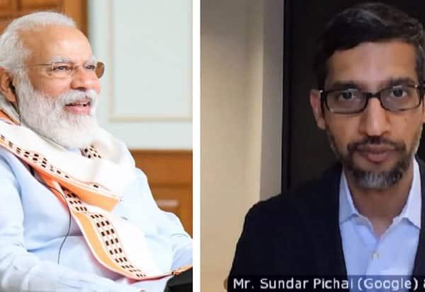 PM Modi, narendra modi, sundar pichai, Google, Alphabet, கூகுள், சுந்தர்பிச்சை, பிரதமர்மோடி, நரேந்திரமோடி, ஆல்பாபெட்,  ,