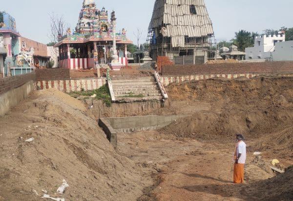 தஞ்சாக்கூரில் ரூ.1 கோடியில் தெப்பக்குளம்