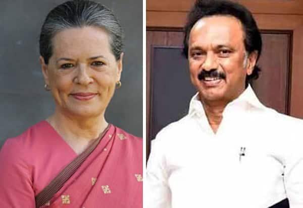 dm,k, Stalin, Sonia, MK Stalin, Congress, Sonia Gandhi, திமுக, காங்கிரஸ், ஸ்டாலின், சோனியா