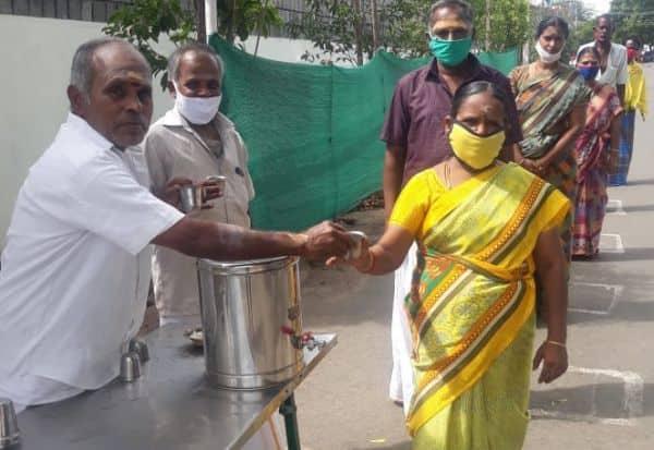 கந்தன் பிரசாதமாக கபசுர குடிநீர்: பக்தர்கள் நெகிழ்ச்சி