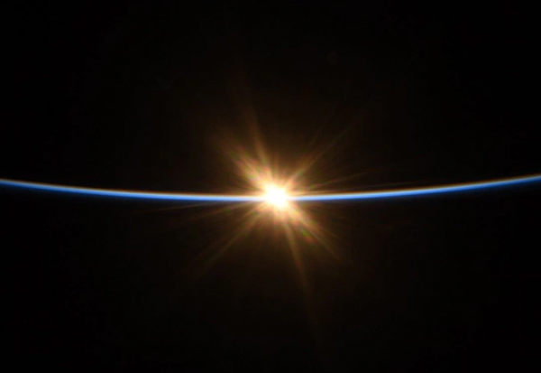 Sunrise, Space, Captured, NASA, Astronaut, சூரியன், உதயம், விண்வெளி, நாசா