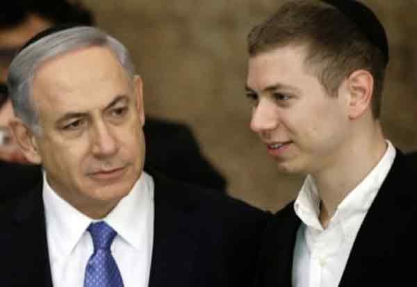 Israeli PM Benjamin, Netanyahu's ,Son Apologises,  His Tweet Offends Indians
