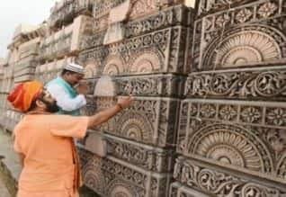 முழுக்க முழுக்க கற்களால் மட்டுமே ராமர் கோவில்