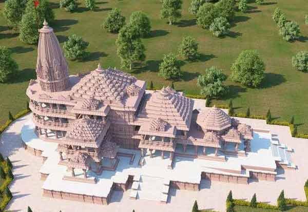 அயோத்தியில் இன்று ராமர் கோவில் பூமி பூஜை