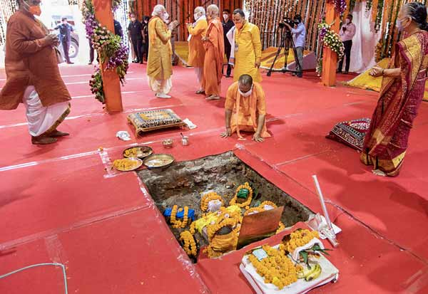 JaiShriRam,AyodhyaBhoomipoojanm,Hindus, Hanuman Garhi Temple