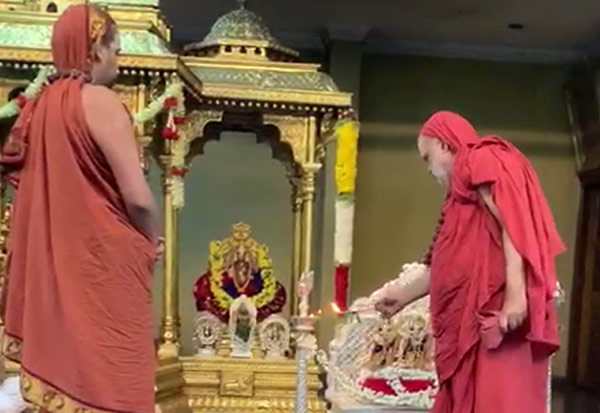 Ram Temple, Sringeri, Jagadguru, சிருங்கேரி மடம், ராமர் சிலை, ஜெகத்குரு, பூஜை