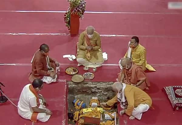 Ayodhya, Ram Temple, Bhoomi pujan, Bhumi Pujan, Ram Janmabhoomi, Ram Mandir, PM, Modi, Narendra Modi