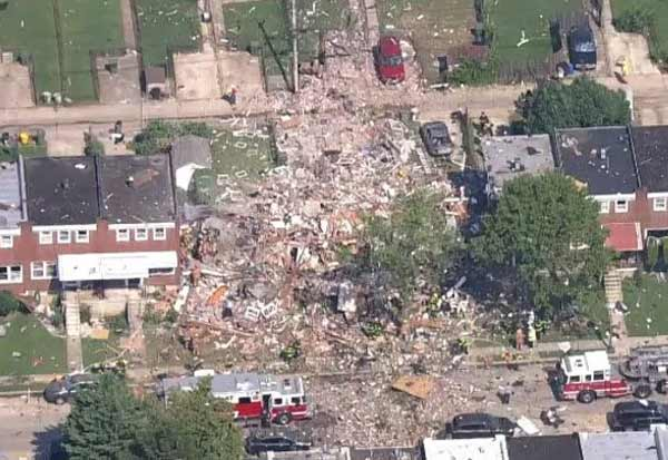 1 Dead, Several Injured ,Explosion Flattens, Baltimore Homes: Reports
