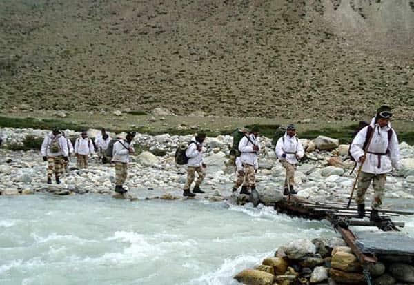 Chinese, Ladakh, Border Force ITBP