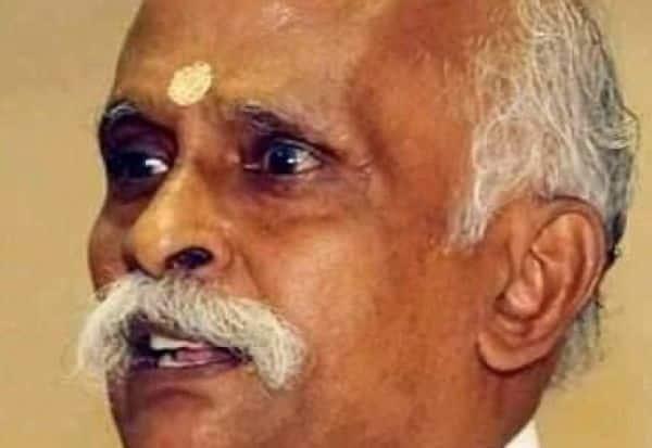 'விஜயபாரதம்'  ஆசிரியர் மறைவு